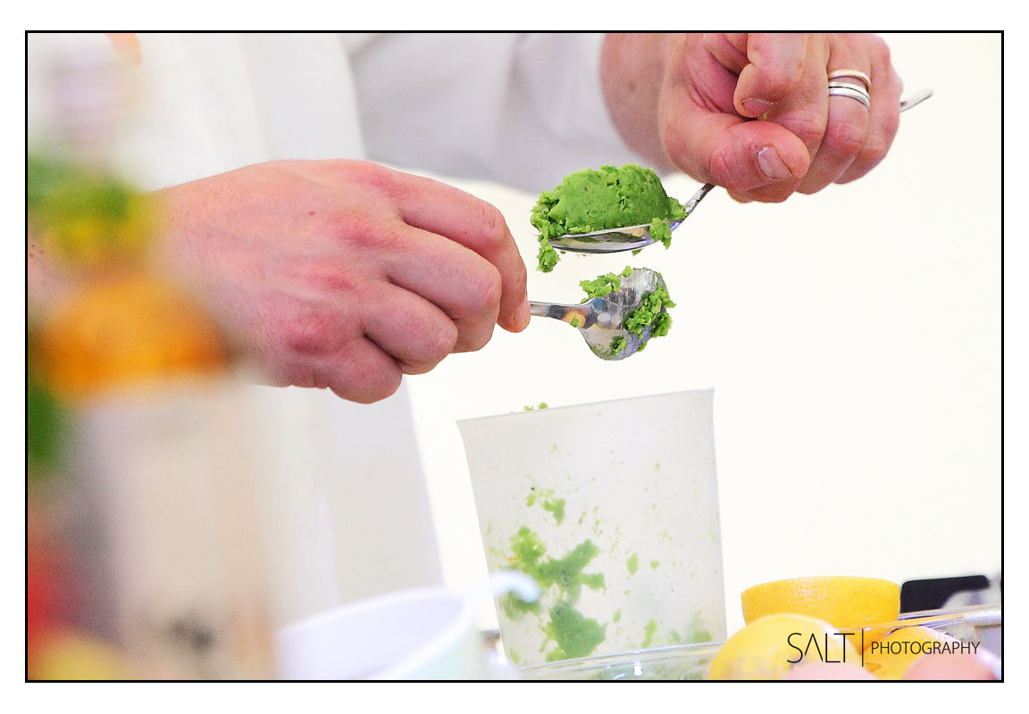 Food Demonstration Photography